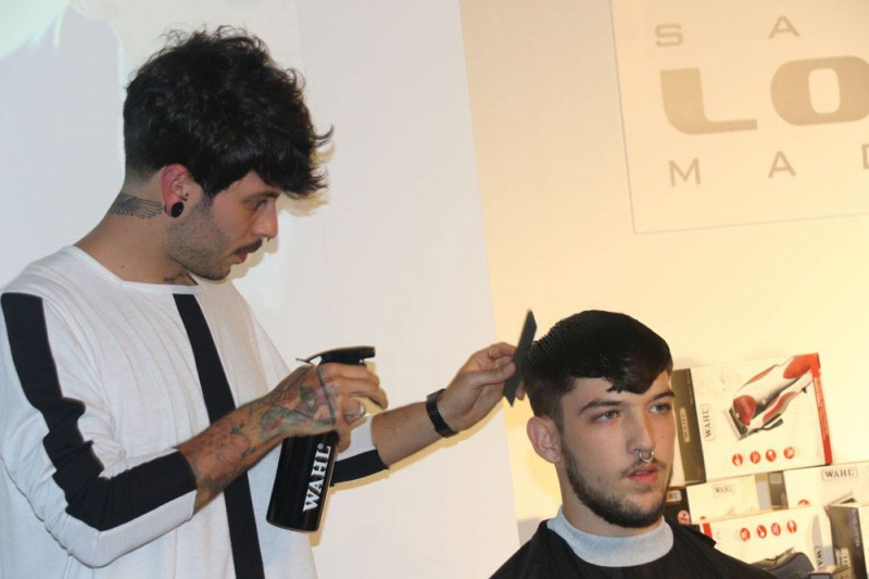"WAHL colabora en el Show ""Emerging with Talent"" by Barberías con Encanto"