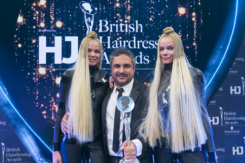 Angelo Seminara ganador del British Hairdressing Award 2016