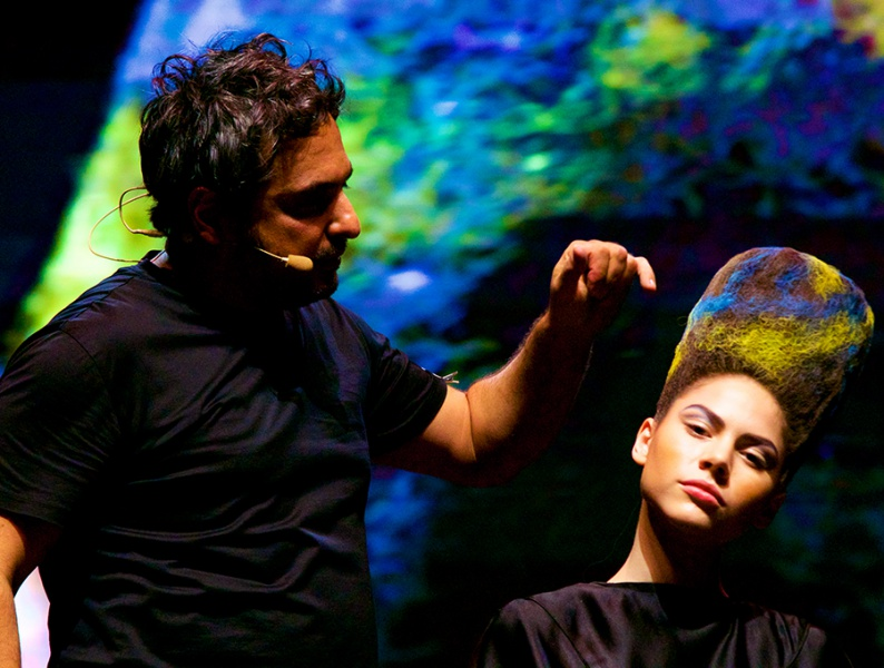 HAIR ON STAGE: el show de Dávines en Santiago de Chile