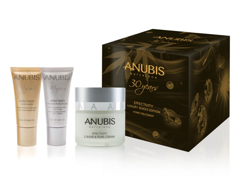 ANUBIS CELEBRA SU 30º ANIVERSARIO CON EL LANZAMIENTO DE EFFECTIVITY LUXURY SENSES EDITION HOME TREATMENT