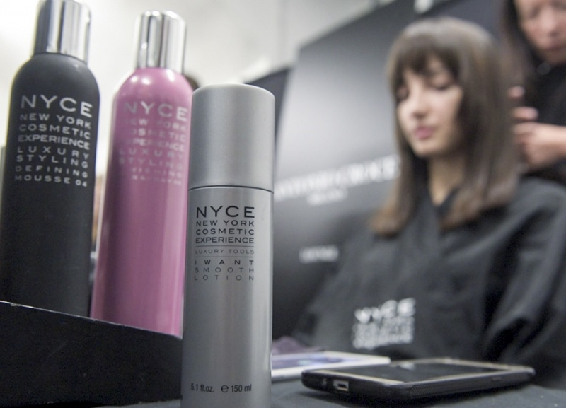NYCE Cosmetics en la Milano Fashion Week