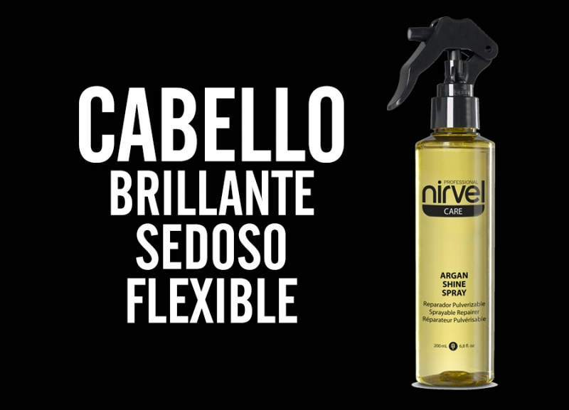 Nutre y repara el cabello con Argan Shine Spray