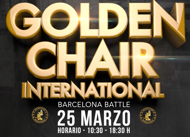 ¡Atención BARBEROS! Llega el Golden Chair International