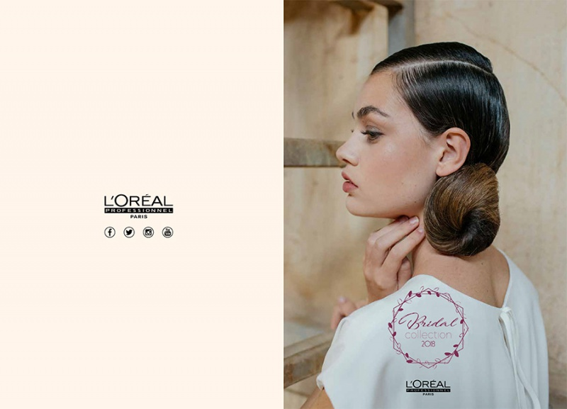 L'Oréal Professionnel protagonista del backstage de la Bridal Fashion Week