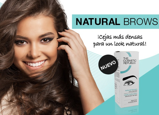 Consigue un look de cejas denso y natural con NATURAL BROWS