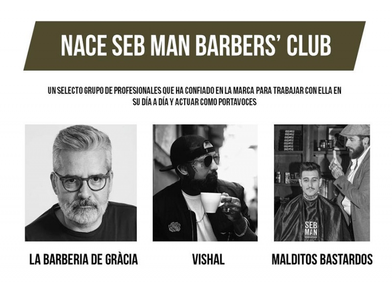 Nace SEB MAN BARBERS' CLUB
