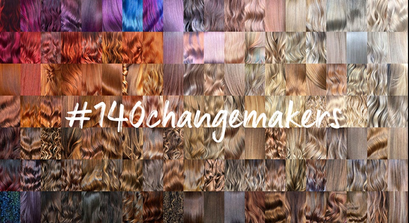 #140changemakers de Wella Professionals