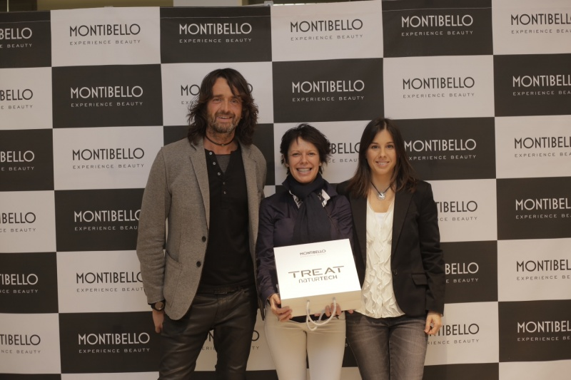 MONTIBELLO PRESENTA TREAT NATURTECH EN EL HAIR STUDIO DE BARCELONA