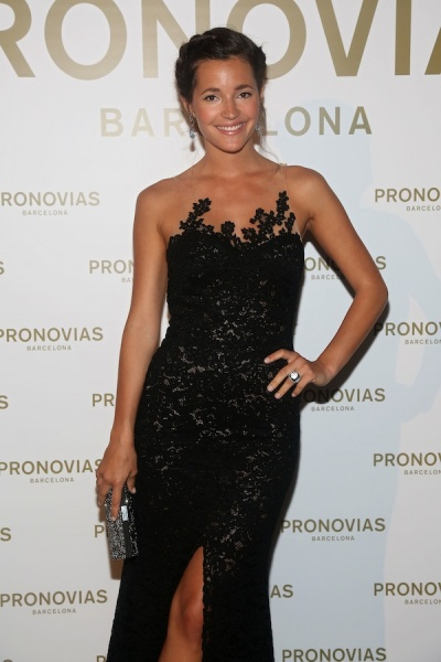 GHD PEINA A LAS CELEBRITIES EN EL DESPILE DE PRONOVIAS